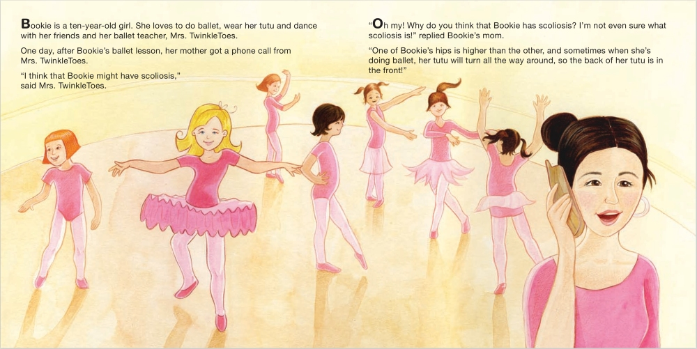 Heather Castles watercolour painting children's book illustration girls ballet