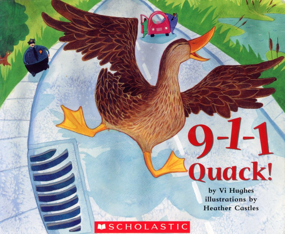 duck Childrens book ducklings emergency illustrations watercolours