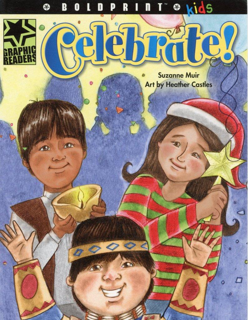 cultural celebrations children book pencil digital illustrations
