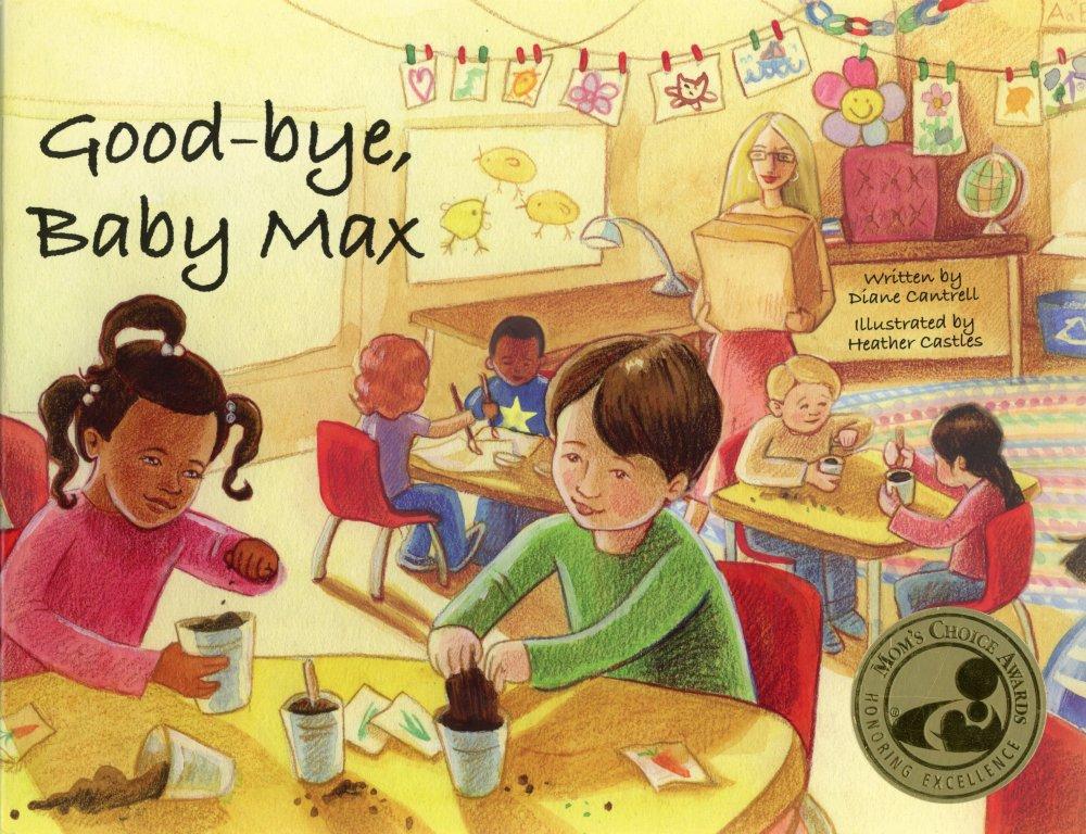 Childrens book sharing kindergarten grief loss watercolour pencil illustrations