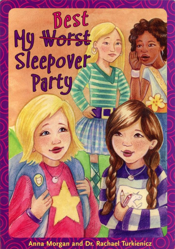 young reader school book popularity friends sleepover heather castles