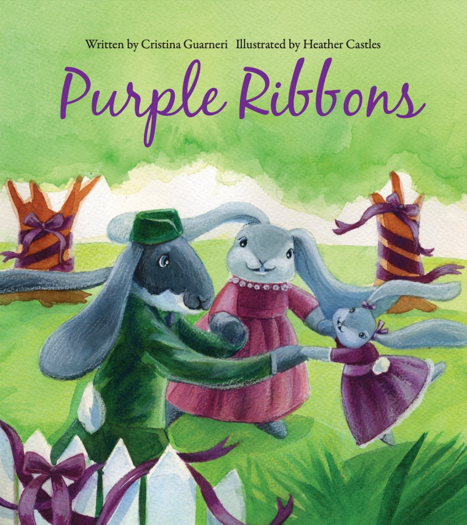 purple ribbons army doctor Childrens book story