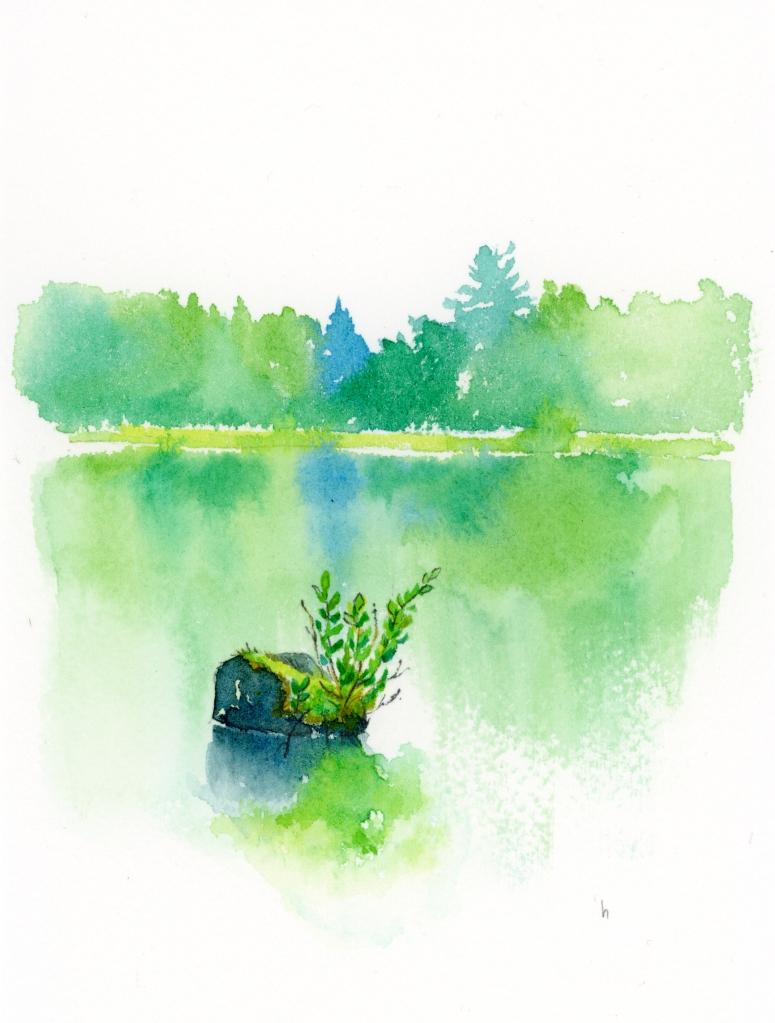 watercolour Ontario canada